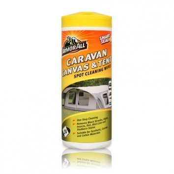 Caravan/tält cleaning wipes